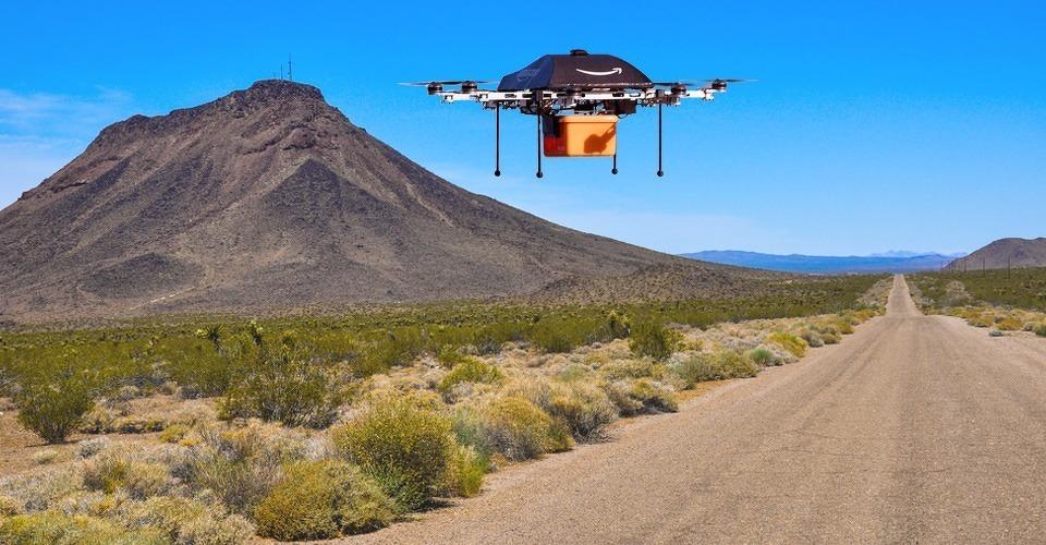 Amazon wil bezorgdrones demonstreren aan FAA