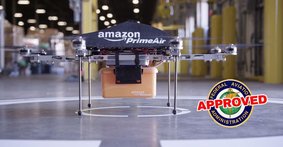 Amazon test al vijfde en zesde generatie drones