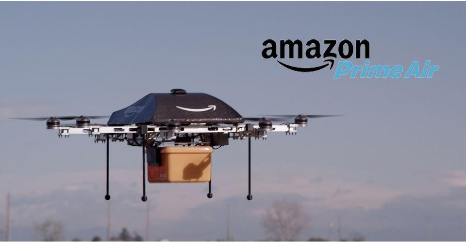 Amazon zoekt drone piloten