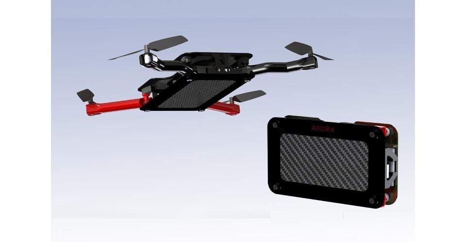 Anura: opvouwbare drone