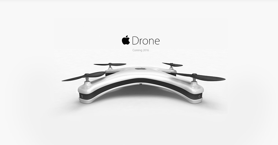 Apple IDrone Concept Met ISight Technologie