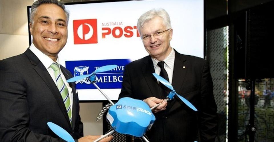 Australia Post kondigt $14 miljoen fonds aan voor drone delivery