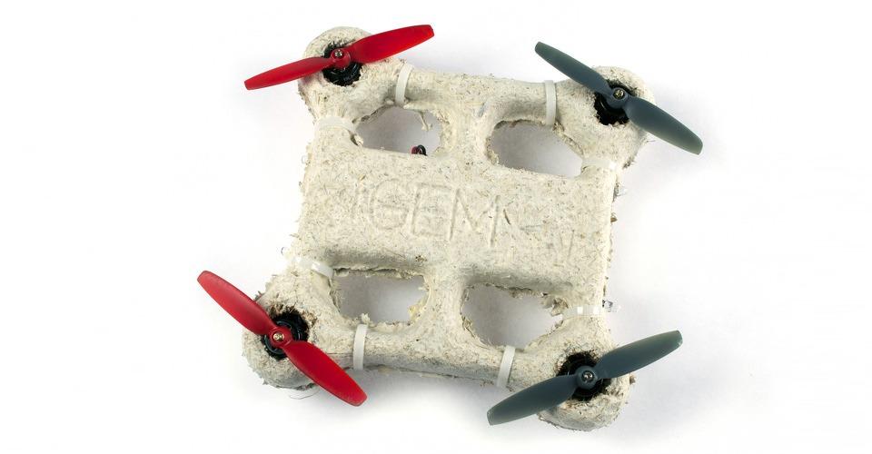 Biologisch afbreekbare drone