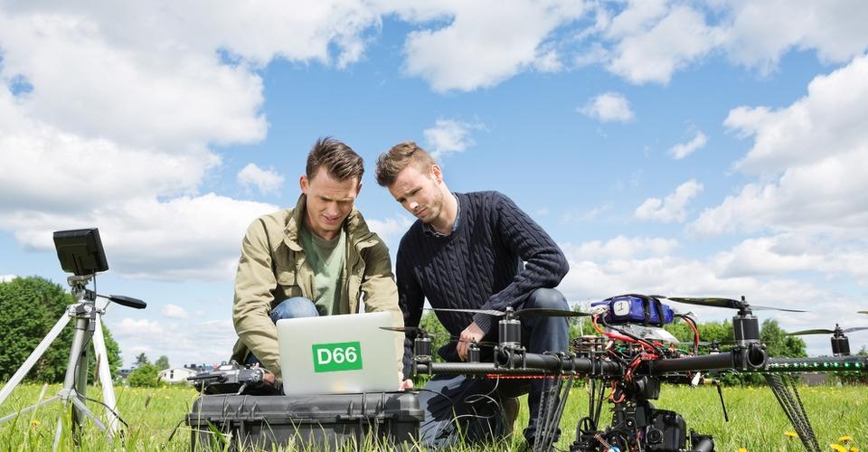 D66 wil snel regels voor gebruik drones