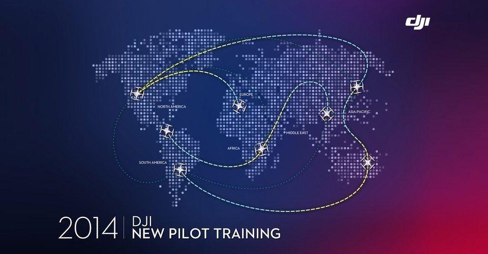 DJI organiseert 2 uur durende pilotentrainingen