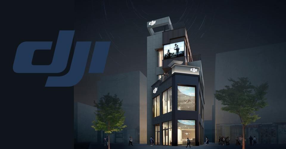 Nieuwe DJI winkel in Seoul, Zuid-Korea