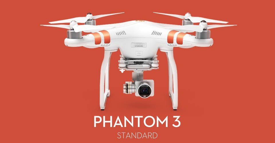 nieuw dji phantom 3 standard aangekondigd. Black Bedroom Furniture Sets. Home Design Ideas