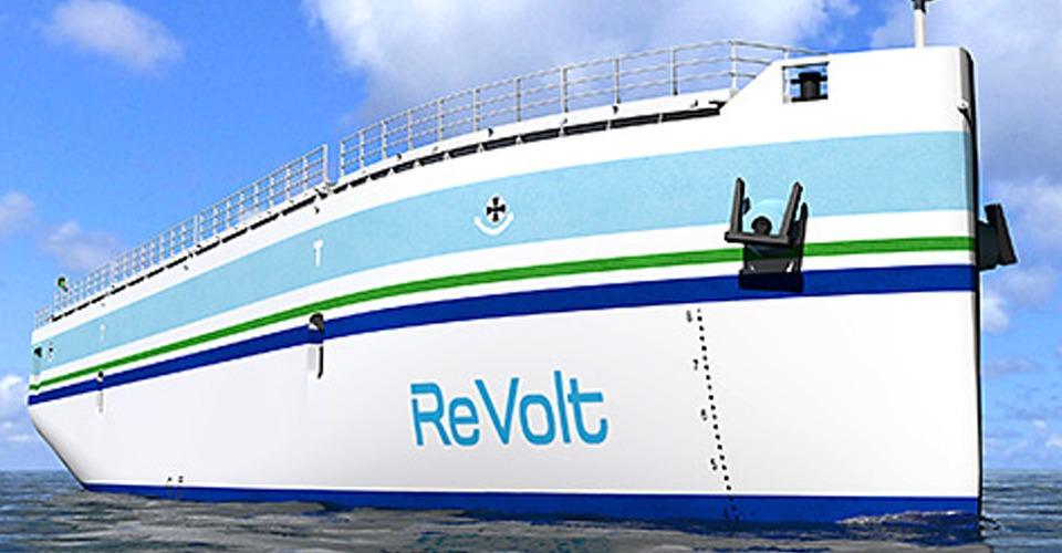 ReVolt: vrachtschip drone