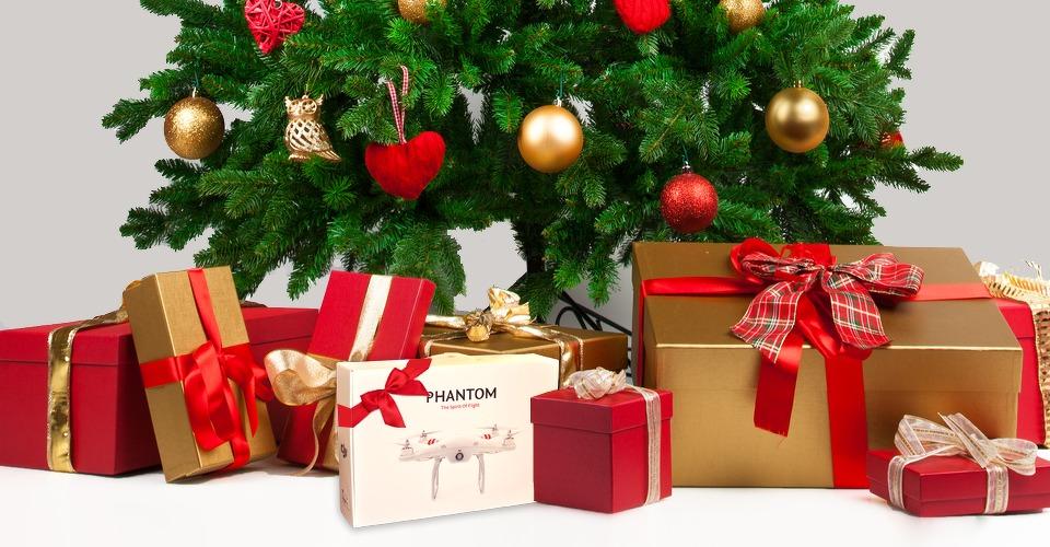 Drones populair kerst cadeau: vele crashes als gevolg
