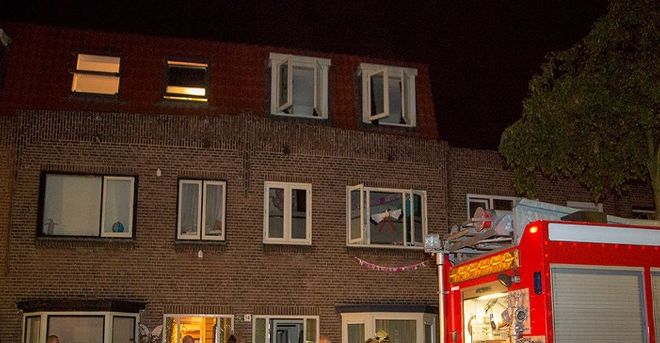 Drone oorzaak woningbrand in Haarlem