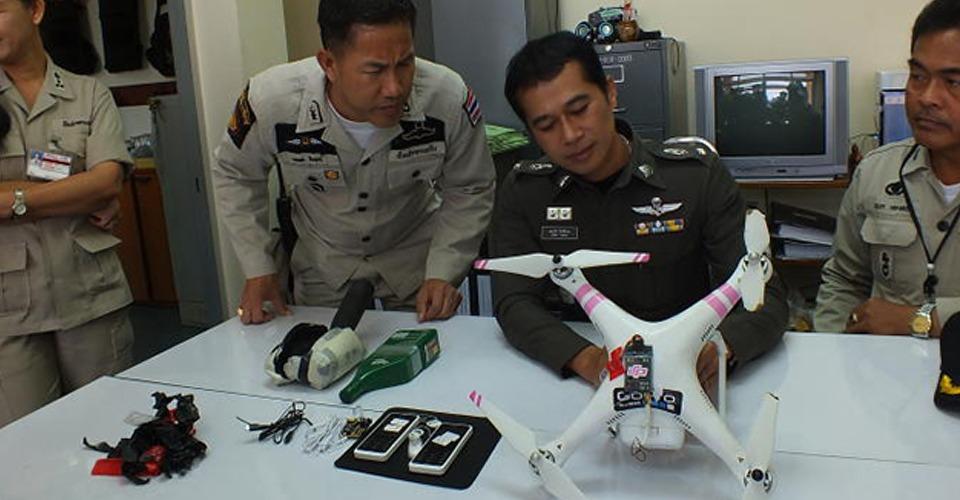 Drone smokkelt telefoons Thaise gevangenis in