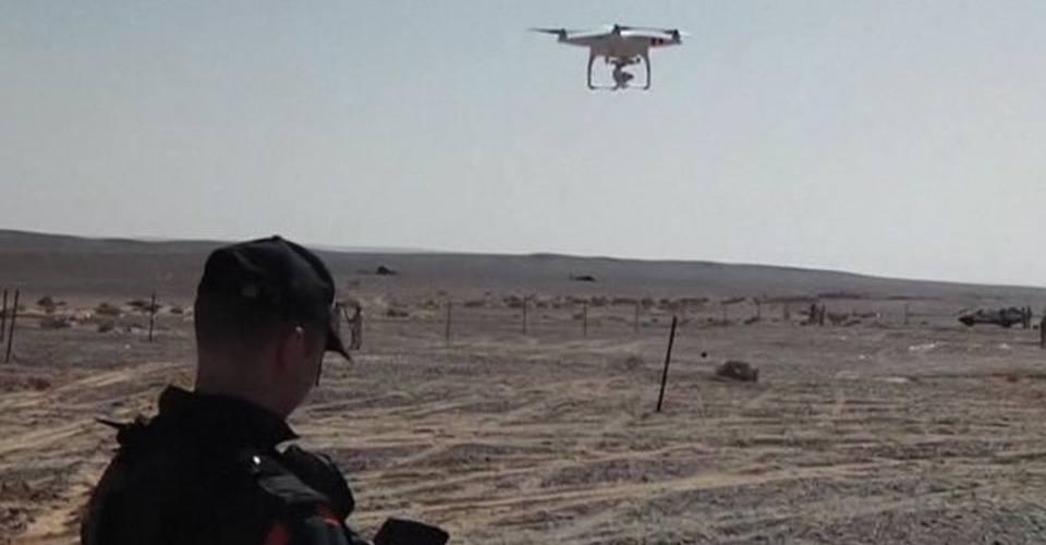 Drone filmt vliegtuigwrak in Sinaï