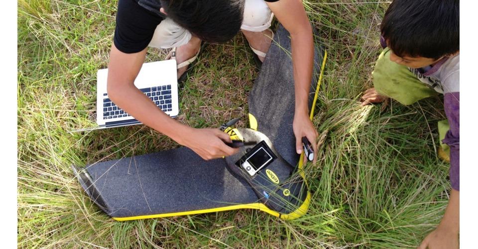 Drones bestuderen verspreiding Malaria