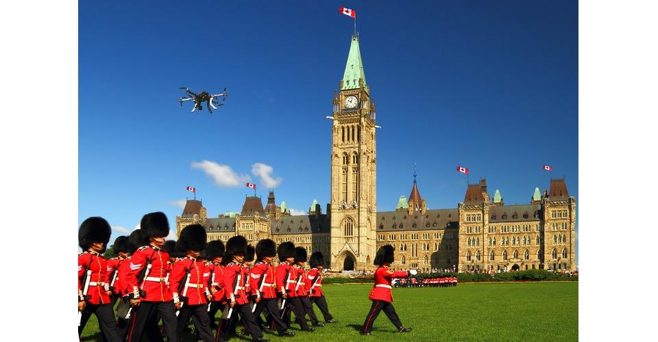 Opheldering drone regulering in Canada