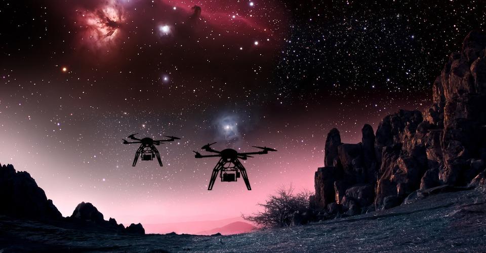 Gaan drones naar buitenaards leven zoeken?