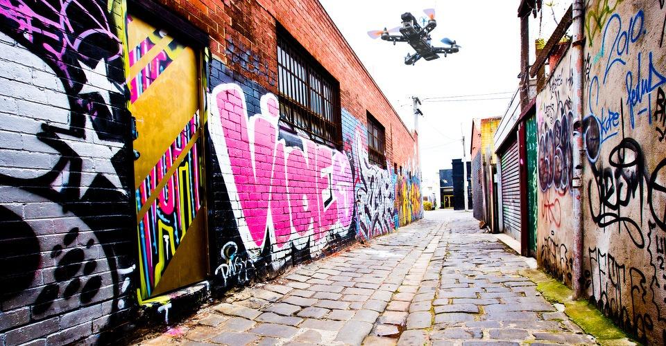 CHARPU's doldwaze drone vluchten