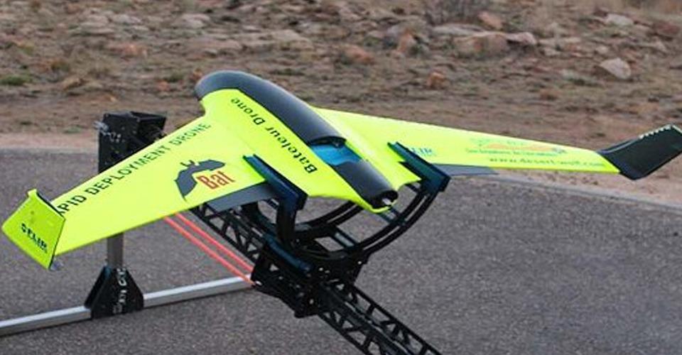 Drones gaan nu ook betogers te lijf