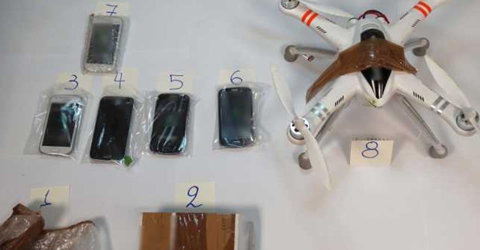 Bewakers onderscheppen drone in Griekse gevangenis