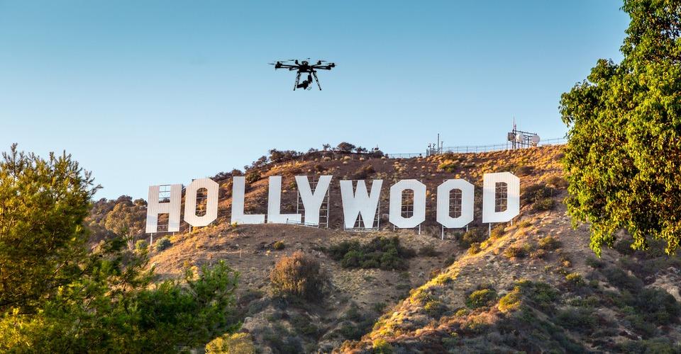 FAA verleent vrijstelling gebruik drones aan filmmakers in Hollywood