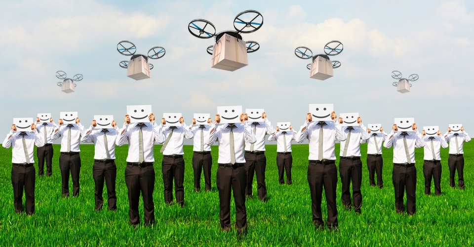 Google's nieuws maakt drone investeerders blij
