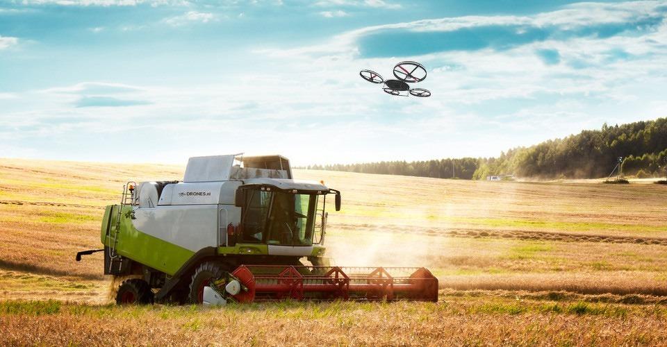Wetgeving verhindert opkomst landbouw drones