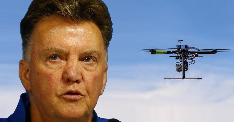 Louis van Gaal beschermt Manchester United tegen spy-drones