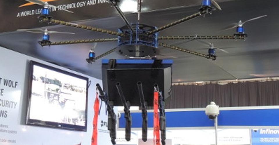 Eerste pepperspray drones verkocht