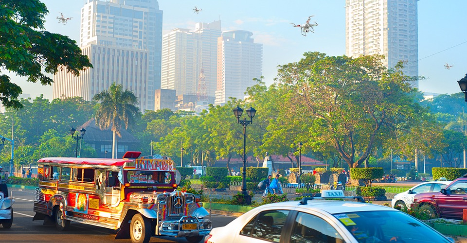 Filipijnen wil drone registratie uit angst voor terreur