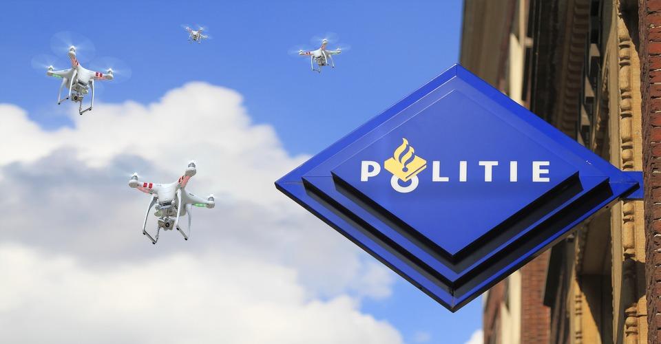 Politie wil drones uit de lucht kunnen halen