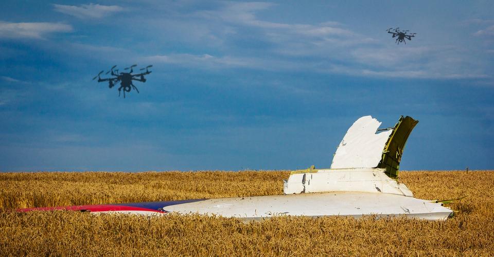 TU Delft: Drones inzetten bij onderzoek ramp Oekraïne