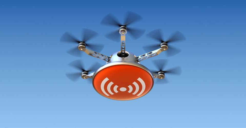 Drone kan wifi-verbindingen kapen