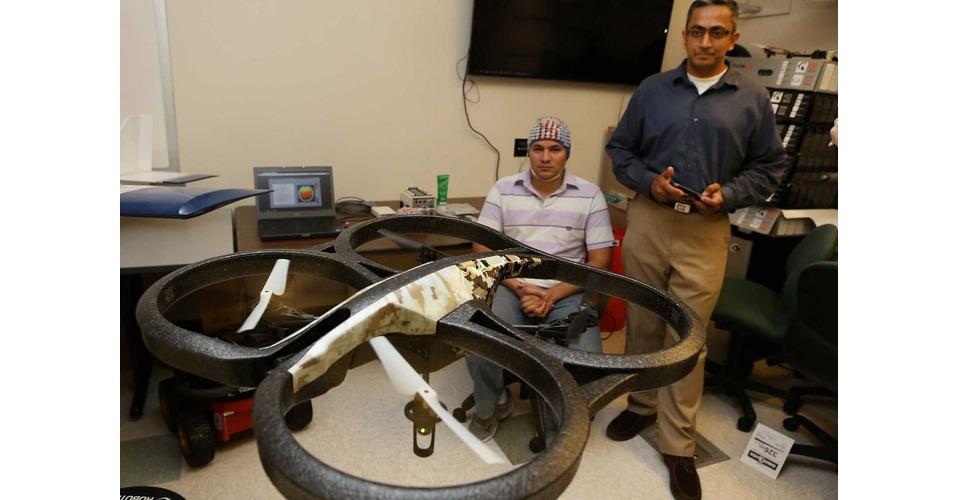 Drones besturen met je gedachten