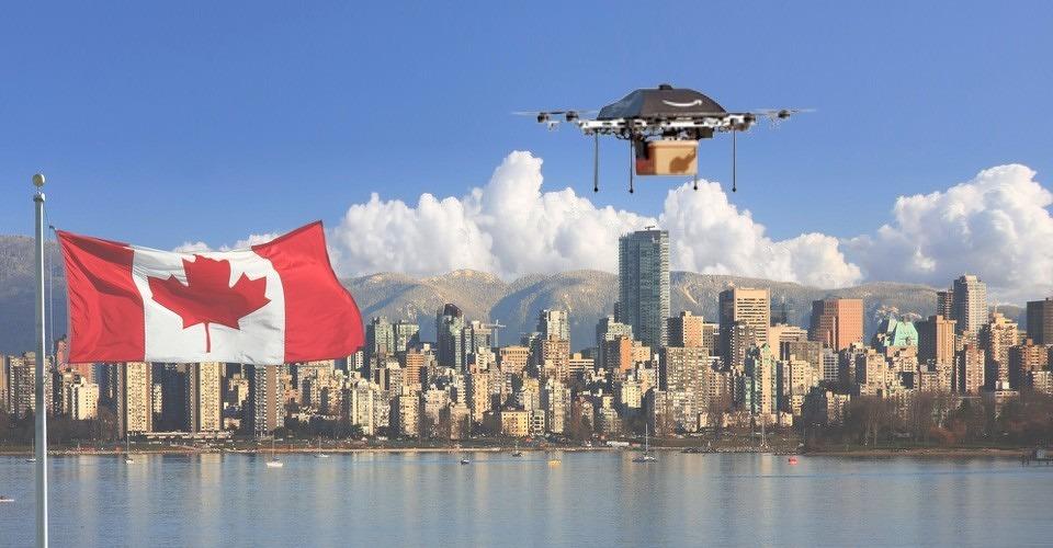 Amazon test bezorgdrones in Canada