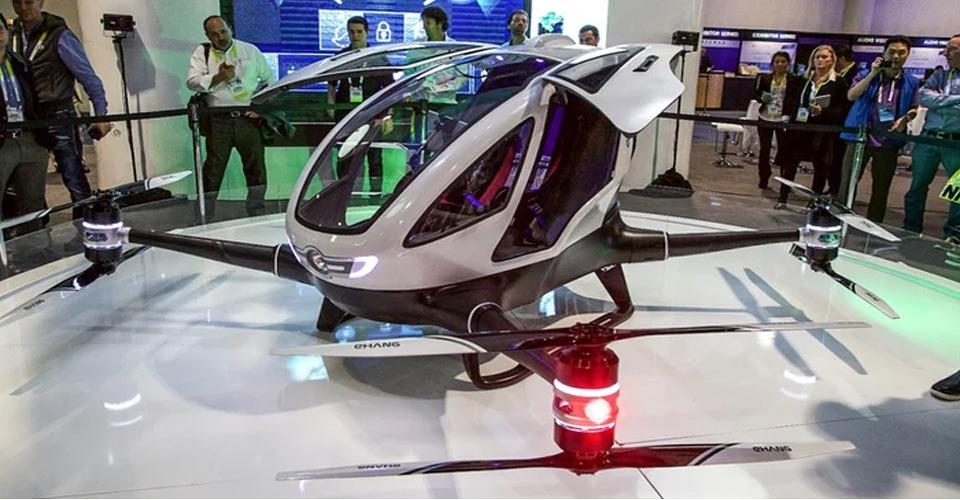 EHang presenteert mensvervoerende drone op CES