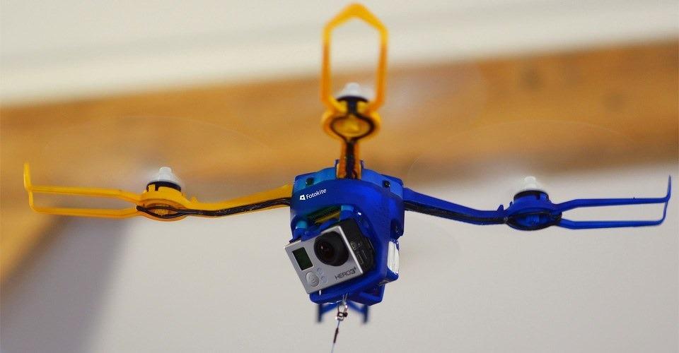 Fotokite Phi succesvol op Indiegogo