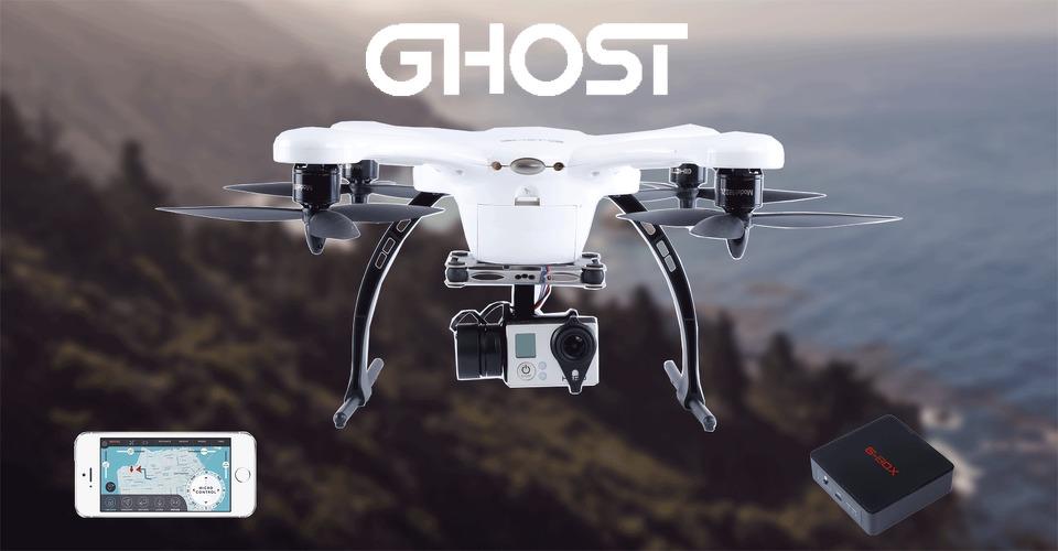 Ghost Drone zeer succesvol op Indiegogo