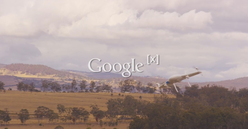 Google werkt aan eigen drone