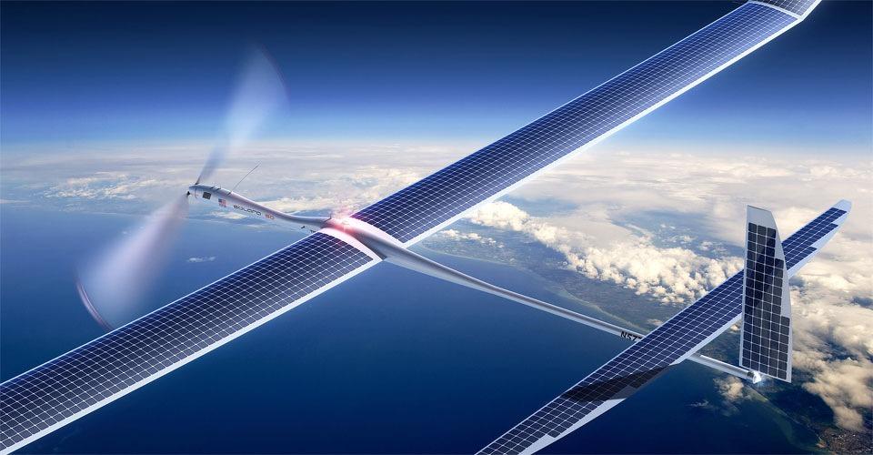 Google introduceert Titan internetdrones in 2015