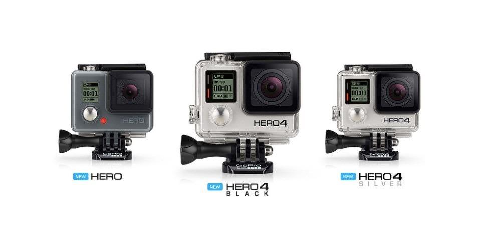 GoPro kondigt nieuwe serie HERO4 action cams aan