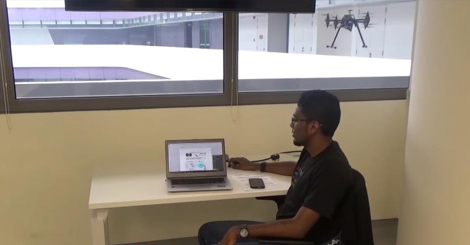 Hackende drone onderschept documenten