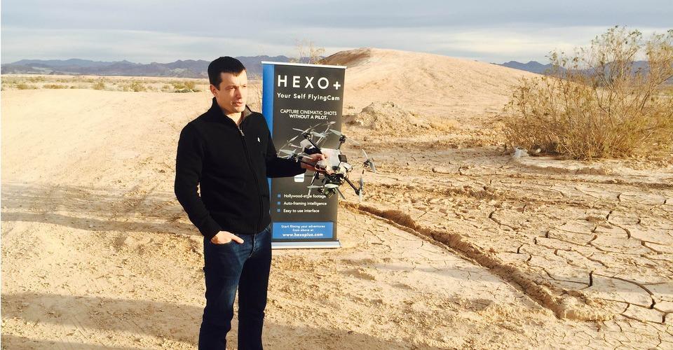 Demonstratie HEXO+ drone in Las Vegas, Nevada
