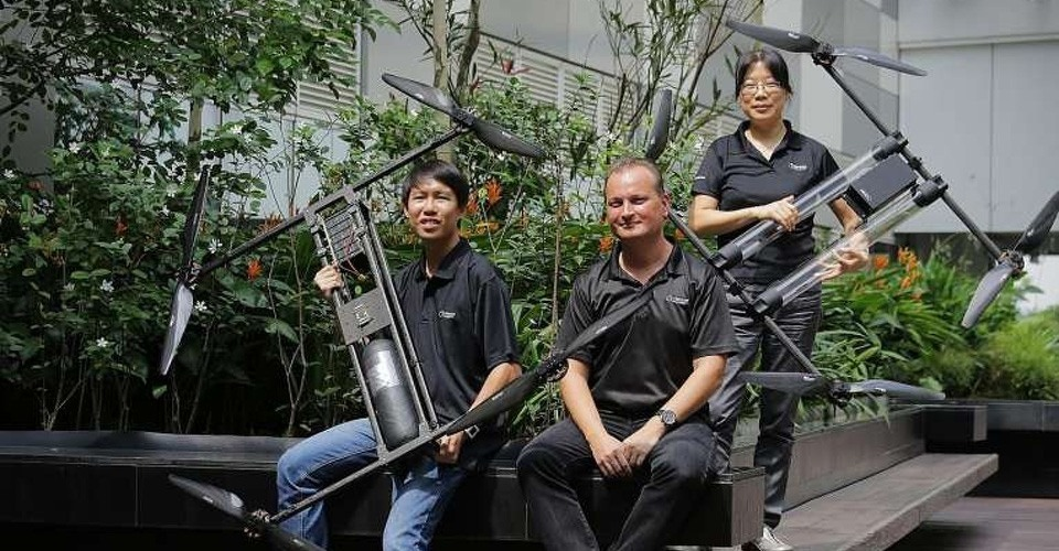 Bedrijf uit Singapore gaat voor wereldrecord langste drone vlucht