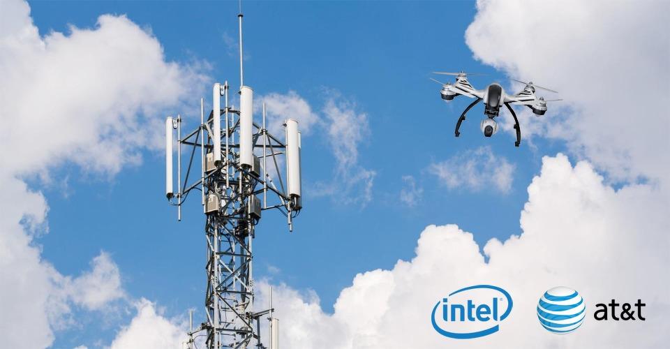 Intel en AT&T onderzoeken 4G-drones