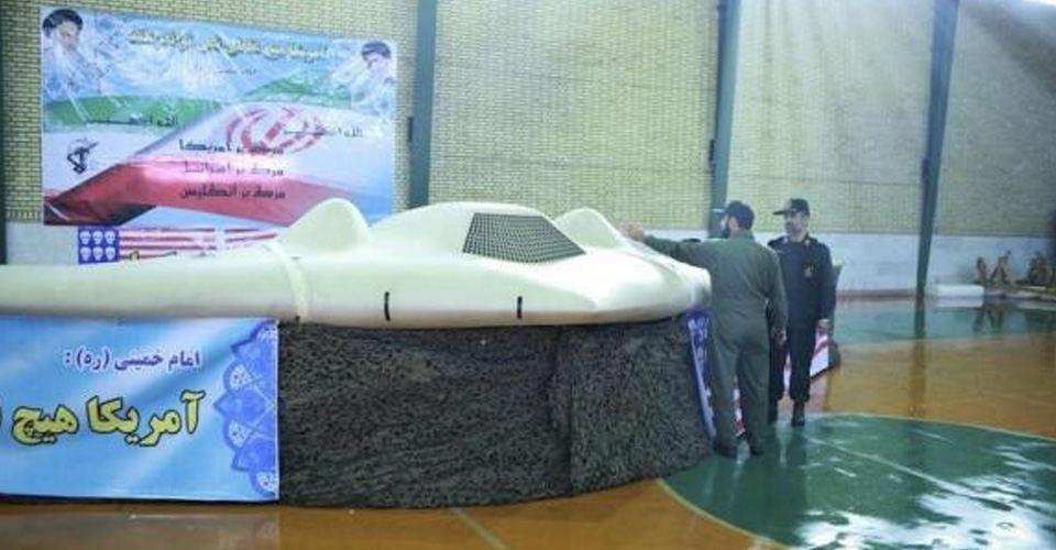 Iran test nagemaakte VS drone