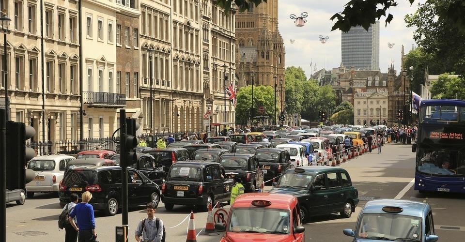 Binnenkort bezorging per drone in Londen?