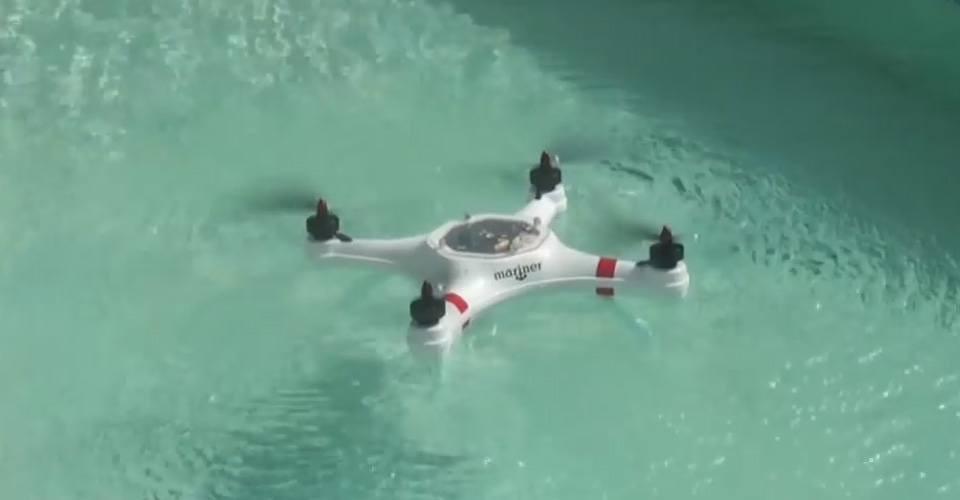 Mariner, de waterbestendige drone