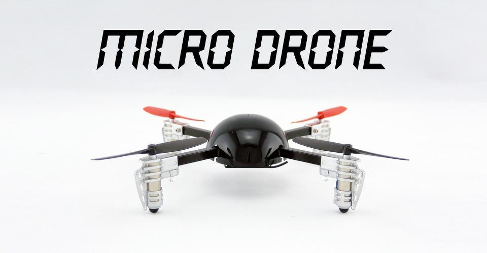 Micro Drone, de eerste nano quadcopter met camera