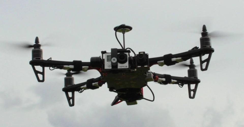 Politie Culemborg zoekt naar neergestorte drone