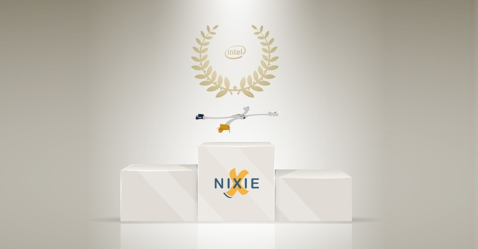 Nixie wint Intel's Make It Wearable contest