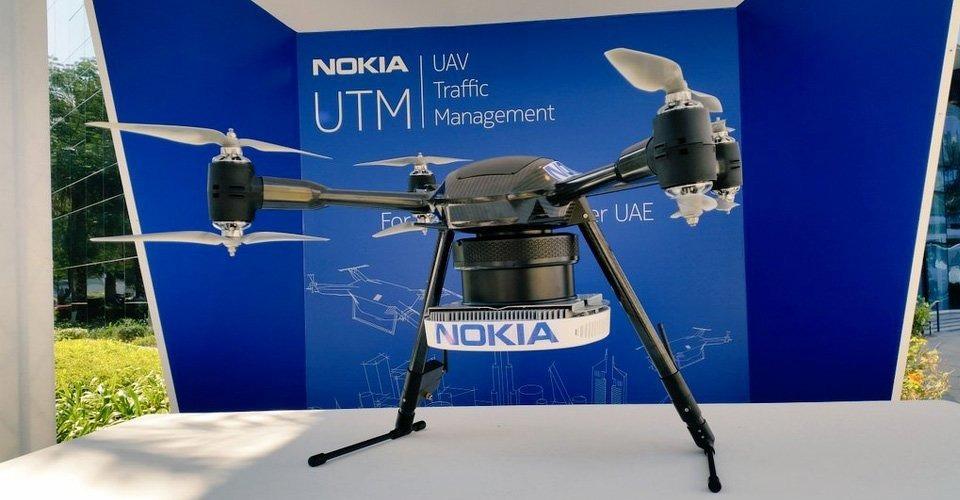 Nokia onthult LTE verkeerssysteem voor drones